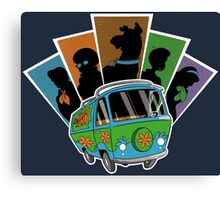 MYSTERY PALS Canvas Print