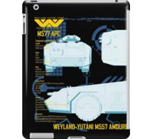 WEYLAND-YUTANI M557 AMOURED PERSONEL CARRIER iPad Case/Skin