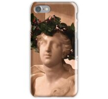 Christmas bust iPhone Case/Skin