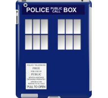 Police Box New Blue iPad Case/Skin