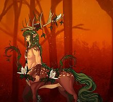 Forest Spirit Chiron by Kisekii