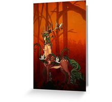 Forest Spirit Chiron Greeting Card