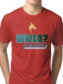 WWCD? Tri-blend T-Shirt