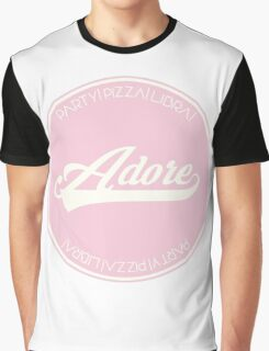 ADORE DELANO Graphic T-Shirt
