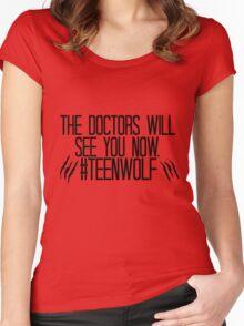 Teen Wolf Season 5  Women's Fitted Scoop T-Shirt