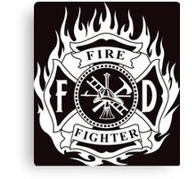 FIRE FIGHTER Canvas Print