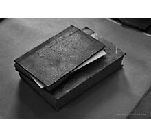 Vintage Books | Upper Brookville, New York Photographic Print