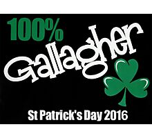 Gallagher St Patrickday's Day Photographic Print