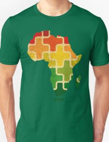 AFRICAN PUZZLE Unisex T-Shirt