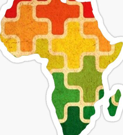 AFRICAN PUZZLE Sticker