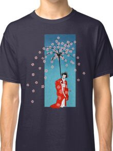 Spring Snow Parasol Classic T-Shirt
