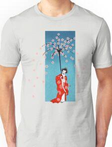 Spring Snow Parasol T-Shirt