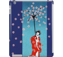 Spring Snow Parasol iPad Case/Skin