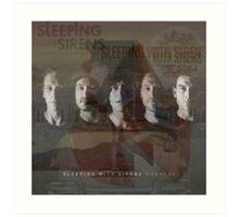 Sleeping With Sirens- Albums Art Print