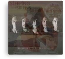 Sleeping With Sirens- Albums Canvas Print