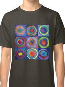 Circles - abstract watercolour Classic T-Shirt