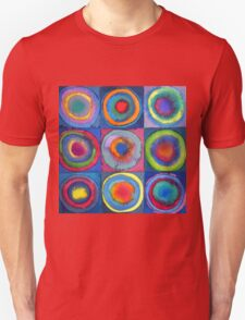 Circles - abstract watercolour Unisex T-Shirt