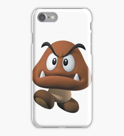 goomba - mario bros iPhone Case/Skin