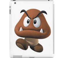 goomba - mario bros iPad Case/Skin