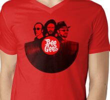 Bee Gees T-Shirt Mens V-Neck T-Shirt