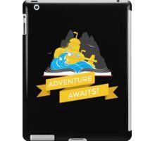 Sci-Fi Book with Submarine iPad Case/Skin