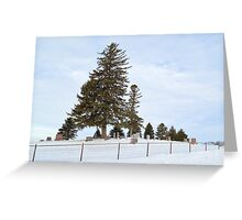 Hilltop Cemetery Greeting Card