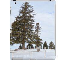 Hilltop Cemetery iPad Case/Skin