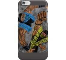 mk sub zero & scorpion 2 iPhone Case/Skin