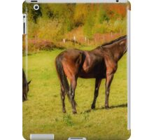 Horses in Mabou iPad Case/Skin