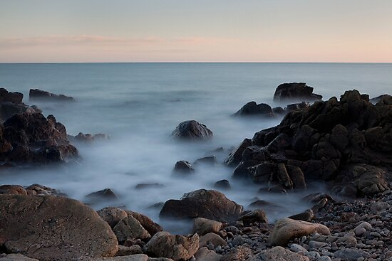 evening light, nigg bay by codaimages