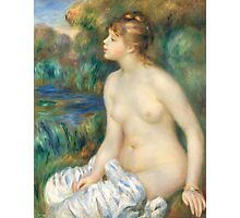 Auguste Renoir - Bather 1891  Woman Portrait Photographic Print