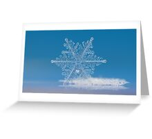 Cloud number nine, panoramic version Greeting Card