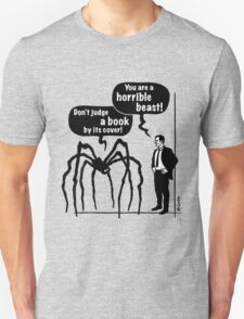 Cartoon: Horrible Beast / Don't judge a book by its cover! Unisex T-Shirt
