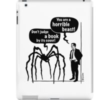 Cartoon: Horrible Beast / Don't judge a book by its cover! iPad Case/Skin