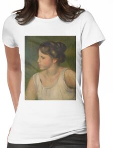 Auguste Renoir - Bust of a Woman  1895 Womens Fitted T-Shirt