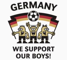We Support Our Boys! (Germany / Fußball) One Piece - Short Sleeve