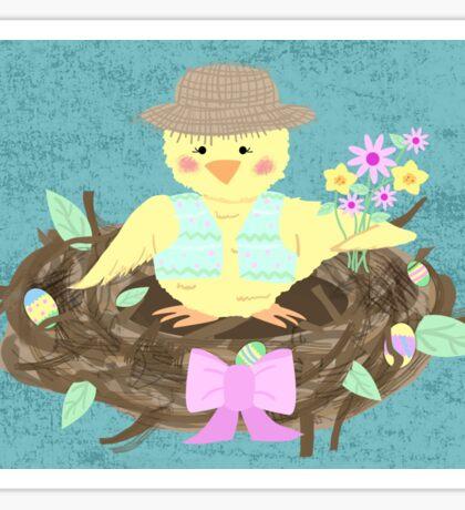 Easter/ Spring Chick Sticker