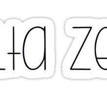 Delta Zeta Sticker