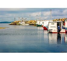 Fishing Boats at Feltzen South Photographic Print