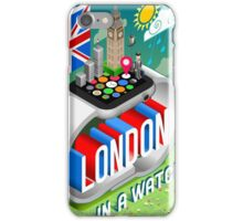 London-UK-Watch-Concept-Isometric iPhone Case/Skin