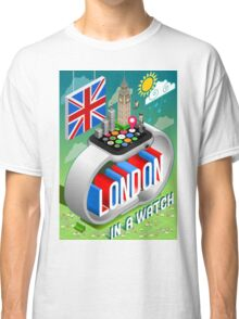 London-UK-Watch-Concept-Isometric Classic T-Shirt
