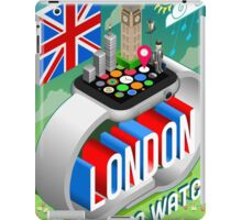 London-UK-Watch-Concept-Isometric iPad Case/Skin