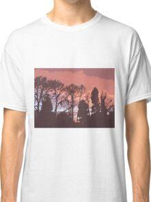 Cutout Sunset Classic T-Shirt