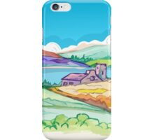 Picture - Hills in Spring iPhone Case/Skin