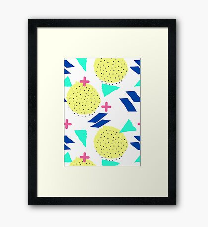 Throwback Abstract 1 Framed Print