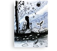 The Star - Tarot Series by Minxi Canvas Print
