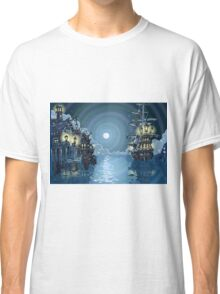 Pirates-Bay-Landscape-Fantasy Classic T-Shirt