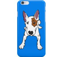 Ruby The English Bull Terrier iPhone Case/Skin