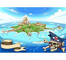 Treasure-Island-Landscape-Fantasy Photographic Print
