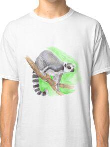 ring-tailed lemur Classic T-Shirt